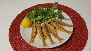 Barbun Balığı Nasıl Pişirilir? ~ Tavada Barbun Tarifi ~ Nefis Balık Tarifi ✔