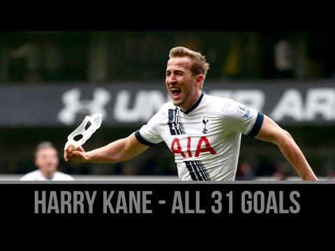 Harry Kane ● All 31 Goals For Spurs and England ● 2015/16 ● Golden Boot Winner ● HD