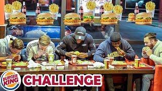 Die BURGR KING - King des Monats - CHALLENGE   Chili essen 🌶️🔥
