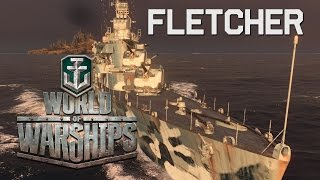 World of Warships - Fletcher