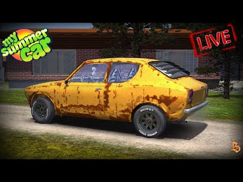 ⚔️ Engine Dead, Again | My Summer Car | Road To 2K Subs | PC LIVE ⚔️