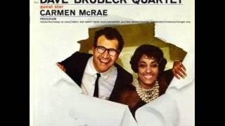 Carmen McRae - Take Five  1961