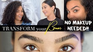 5 ways to TRANSFORM your BROWS without MAKEUP
