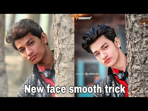 Skin Smooth And Glow New Secret Tricks 2020 , Clean Face+hide Pimples, Snapseed Skin Smooth Editing,