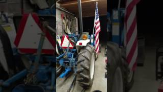 Home built tractor drawbar Ford 1715 tractor