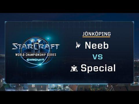 Neeb vs Special PvT - Quarter-finals - WCS Jönköping 2017 - StarCraft II