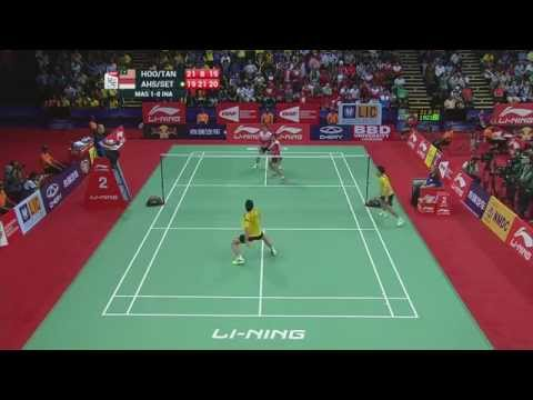 The greatest match point save by Tan Boon Heong