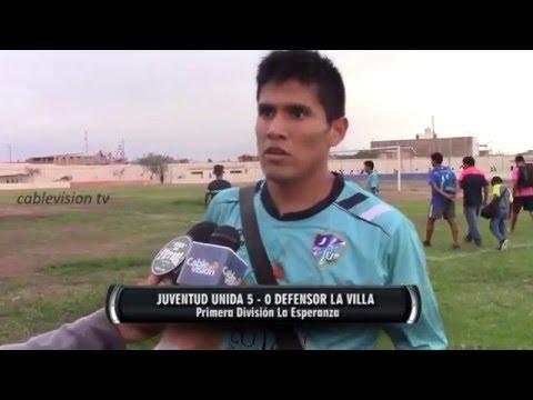 Juventud Unida 5 - 0 Defensor La Villa ::27/02/16