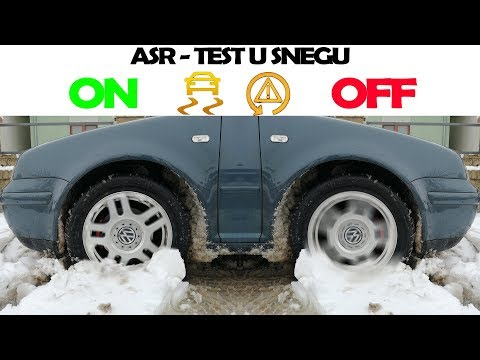 ASR ON VS OFF | TEST U SNEGU