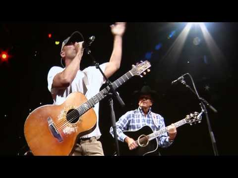George Strait & Kenny Chesney - Amarillo By Morning/2014/Nashville/Bridgestone Arena