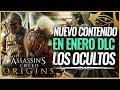 Assassin's Creed Origins   DLC Los Ocultos, Mejorar el Nivel Máximo, Nueva Mision, Armas y más