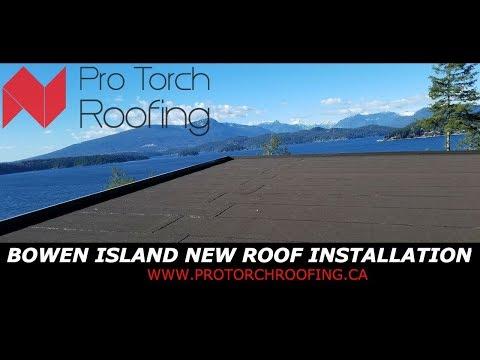 Bowen Island New Roof Installation | Torch On