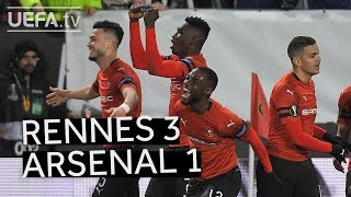 RENNES 3-1 ARSENAL #UEL HIGHLIGHTS