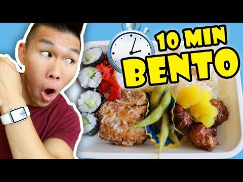 Make a BENTO BOX Crazy Fast in 10 Minutes || Life After College: Ep. 609