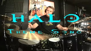 Halo Theme - Drum Cover By Rex Larkman (3000 Subscribers!!!)