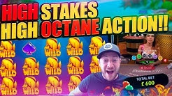 HIGH STAKES HIGHLIGHTS!! Crazy Slots, Blackjack & Roulette Stream!