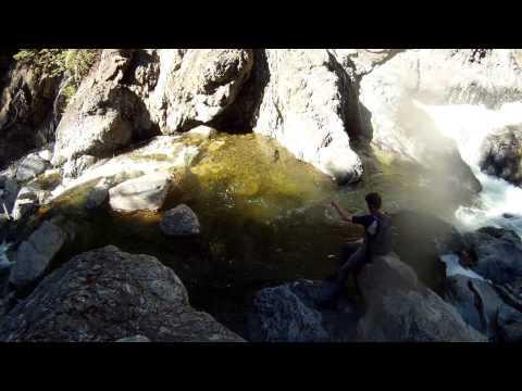 BC Back Road Creek Fishing - The Hunt For Rainbows