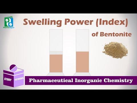 Swelling Power (Index) Of Bentonite