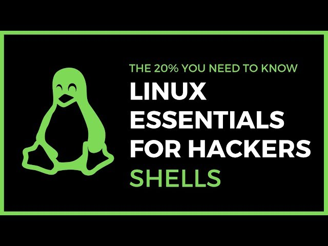 Linux Essentials For Hackers - #10 - Shells & Bash Configuration