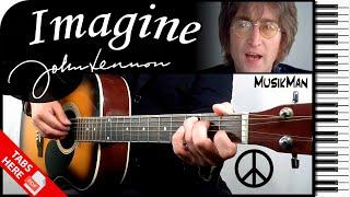 IMAGINE ✌ - John Lennon 👓 / GUITAR Cover / MusikMan #157