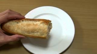 ロリアン フランスパン(バゲット) 咀嚼音 いい音してます