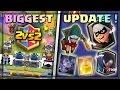 קלאש רויאל - 4 קלפים חדשים , 2 נגד 2 , ולג'נדרים חדשים ?! | עדכון מטורף !! |