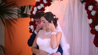Сестра поздравляет брата на свадьбе!!! Трогательно до слез!