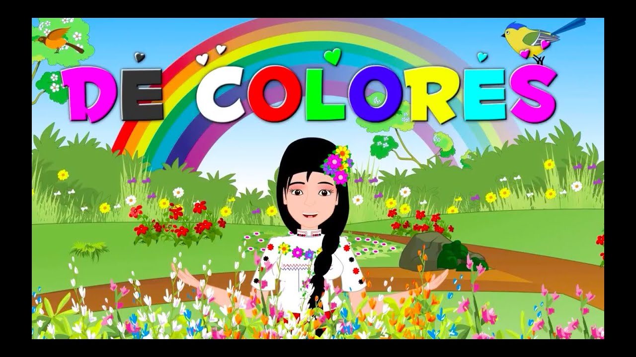 De colores otras canciones tradicionales y rondas for Colores de casa para afuera