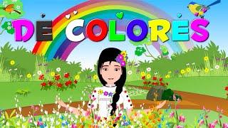 De colores + otras canciones tradicionales y rondas infantiles   Enganchados 20 minutos