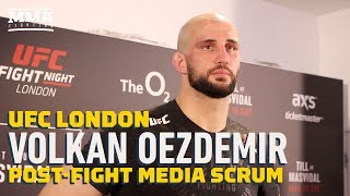 UFC London: Volkan Oezdemir Says Dominick Reyes' Coaches Told Him He Won Close Decision