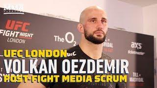 UFC London: Volkan Oezdemir Says Dominick Reyes' Coaches Told Him He Won Close Decision