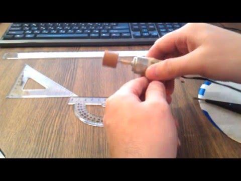 Насадка на мини дрель для шлифовки и заточки своими руками.