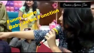 Funny game for New born Baby Function/ Party games/ Baby Jalwa/ Creative Apurva Jain/ Hosting/ Fun
