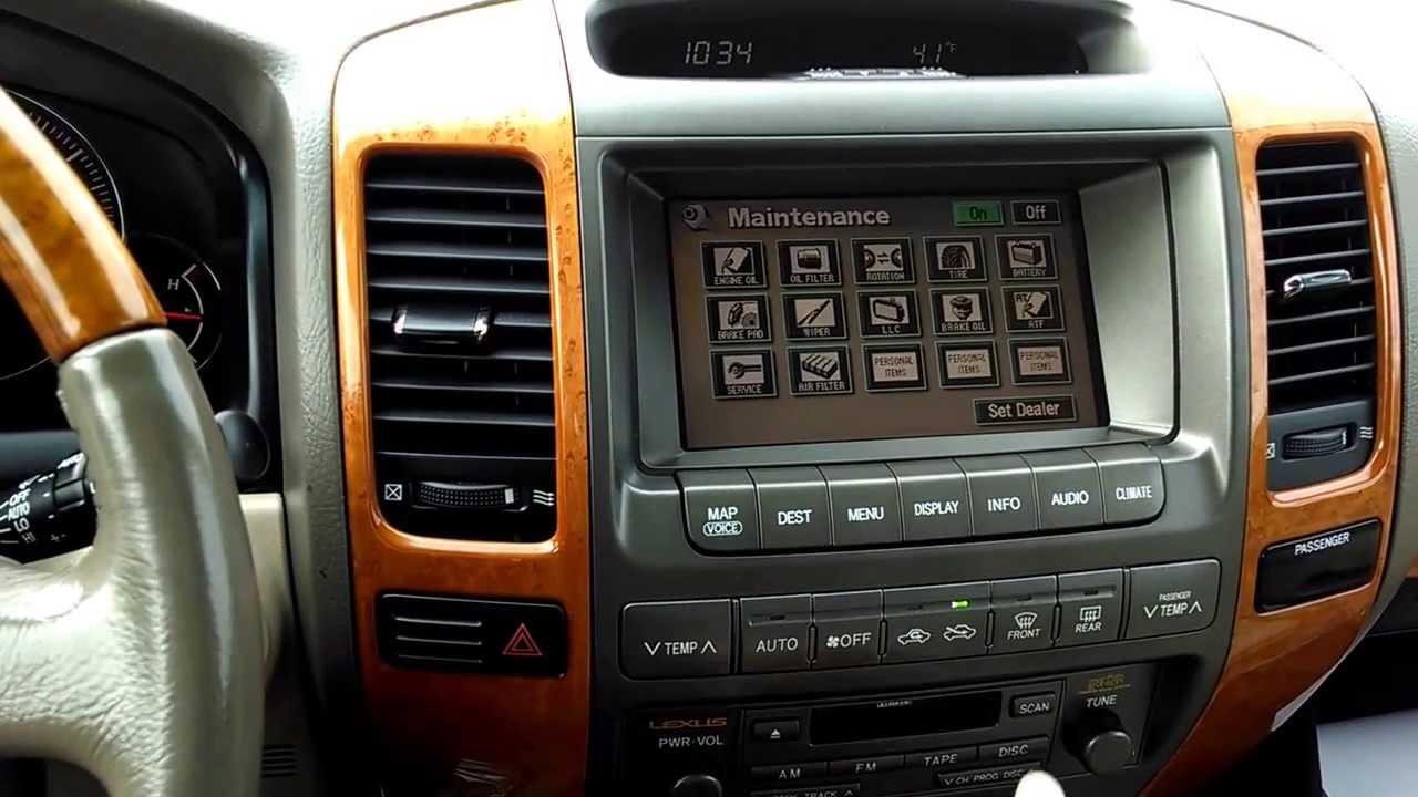 2005 lexus gx470 reliability