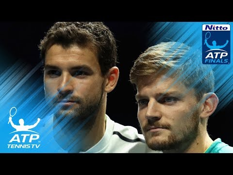 Remarkable rally between Dimitrov and Goffin in 2017 #NittoATPFinals final!