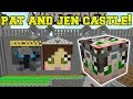 Minecraft: PAT & JEN CASTLE HUNGER GAMES - Lucky Block Mod - Modded Mini-Game