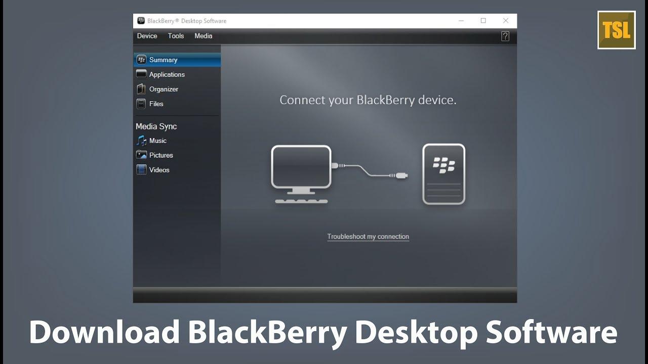 How To Download BlackBerry Desktop Software