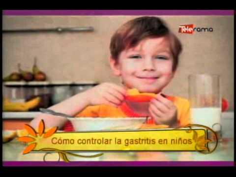 Cómo Controlar la Gastritis en niños