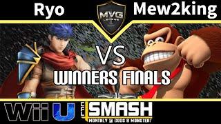 MVG|Ryo (Ike) vs. COG MVG|Mew2king (Donkey Kong & Mario) - SSB4 Winners Finals