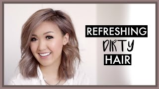 Refreshing Dirty Hair | How I Go 4 Days w/o Washing!  ilikeweylie