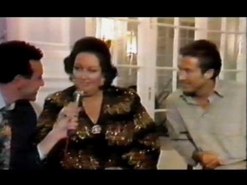 Mecano - Entrevista Jose Mª Cano y Montserrat Caballé (1991)
