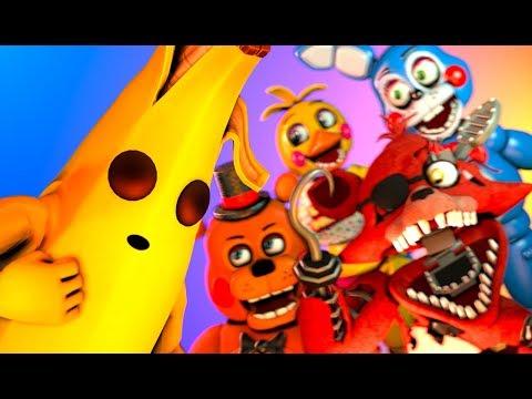 FNaF Toy Animatronics VS. Peely Fortnite (SFM Animation)