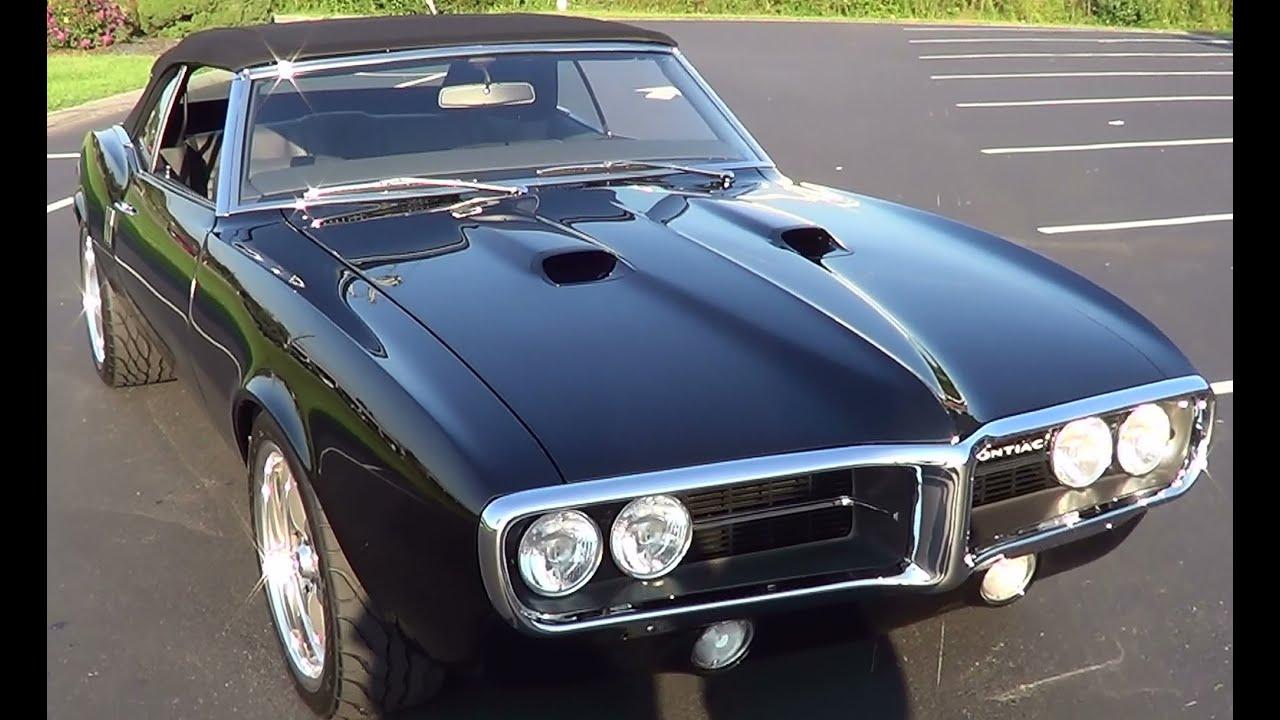 1968 Pontiac Firebird Pro Touring - YouTube