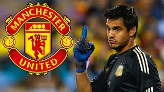 Official Sergio Romero Signs For Manchester United F.C.