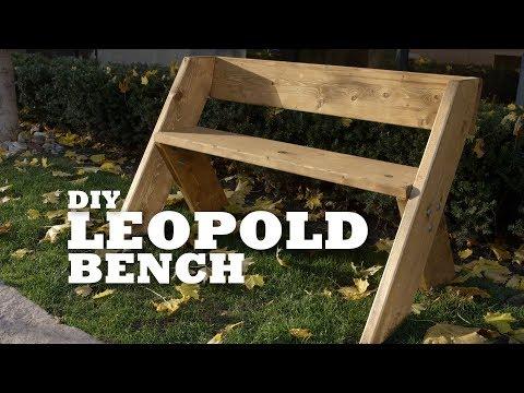 DIY Leopold Bench