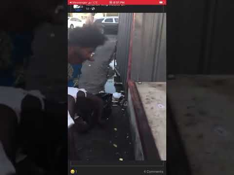 Old Lady's Fighting In Dallas Texas Some Where In Oakcliff (#Dallas #WorldStarNews)