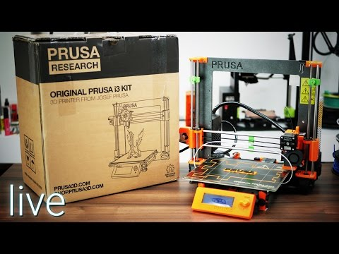 Genuine i3 MK2 unboxing & live build - the real deal from Josef Prusa!