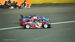 ヨコモ ドリフトミーティング スペシャルラウンド 2015 - 決勝 ワールドクラス (追走) (ノーカット版)