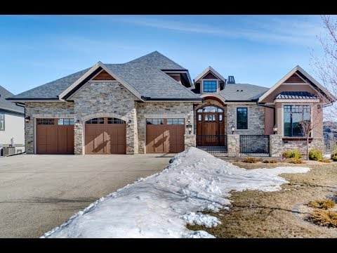 Calgary Real Estate Property Video Tour Production - 208 Waterside Court, Rocky View No.44