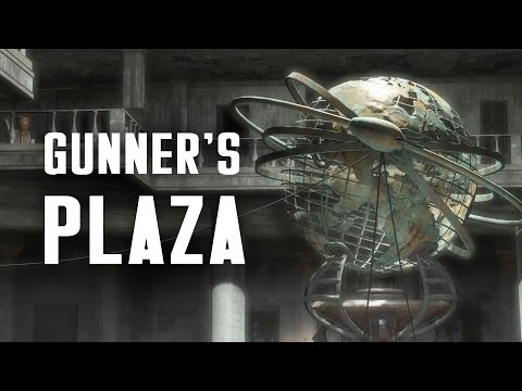 The Full Story of Gunner's Plaza - Plus, Captain Wes' Secret - Fallout 4 Lore